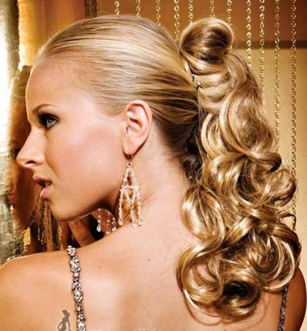 Awe Inspiring Evening Hairstyles Talk Hairstyles Short Hairstyles Gunalazisus