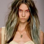 Hairstyles in grunge style for active girls aspiring to freedom