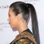 Fast summer hairstyle – high ponytail