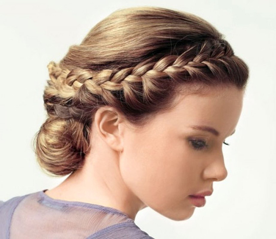 Peachy Hair Braid Around The Head Talk Hairstyles Hairstyle Inspiration Daily Dogsangcom