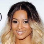 Ombre Color Hairstyle of Ciara