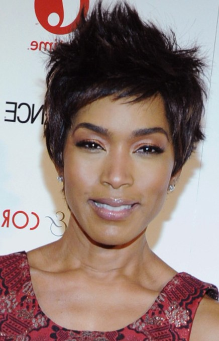 Angela Bassett Spiked Hair