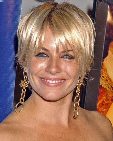 Sienna Miller's best short hair and beauty