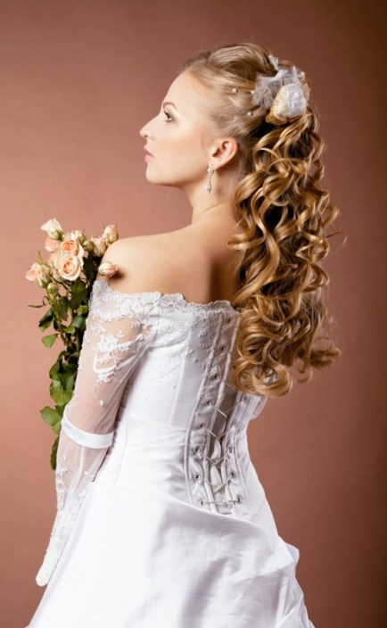 Wedding Bridal Gown Hairstyles