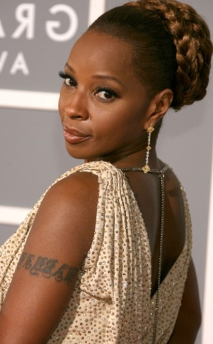 Braided Hairstyles with Bun for Black Women