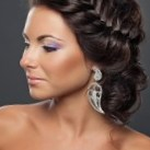 Formal Braid Hairstyle For an Elegant Look