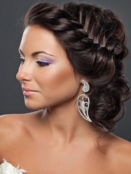 Elegant Braided Hairstyles Formal braid hairstyle for an