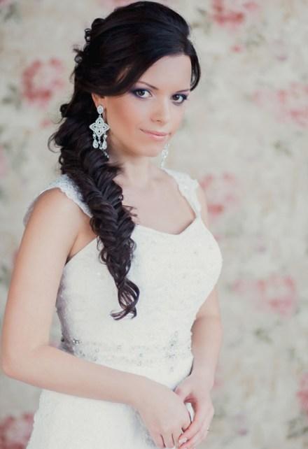 Terrific Side Braid With Curls For Wedding Braids Hairstyles For Men Maxibearus