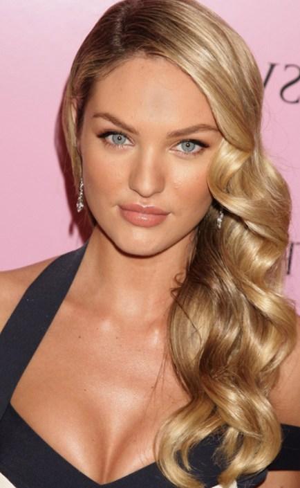 Hairdos for Summer Season - Side Swept Curls | Talk Hairstyles