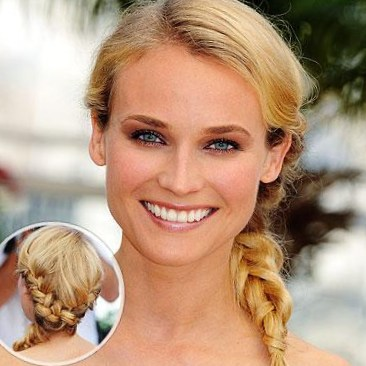 Cute hairstyles for the beach