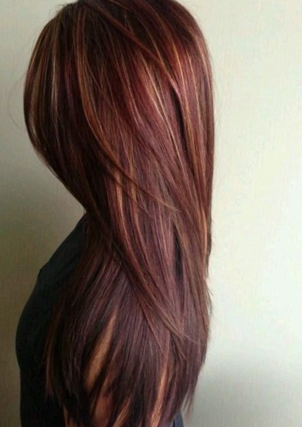 Hairstyle and Beautiful Color for Long Hair