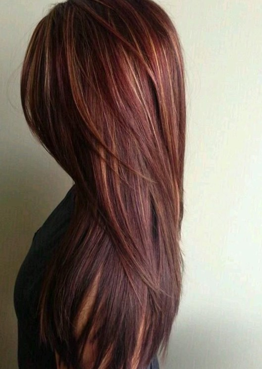Popular Two Tone Hair Color Ideas For Long Hair