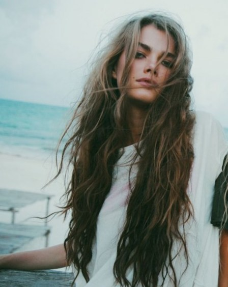Naturally Curly Long Hair