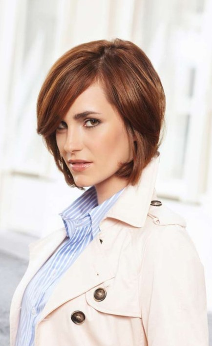 The Chop Shoulder-Length Haircut