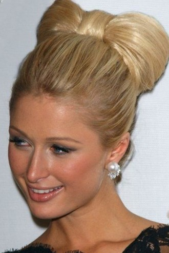 Extravagant Hairstyles Paris Hilton
