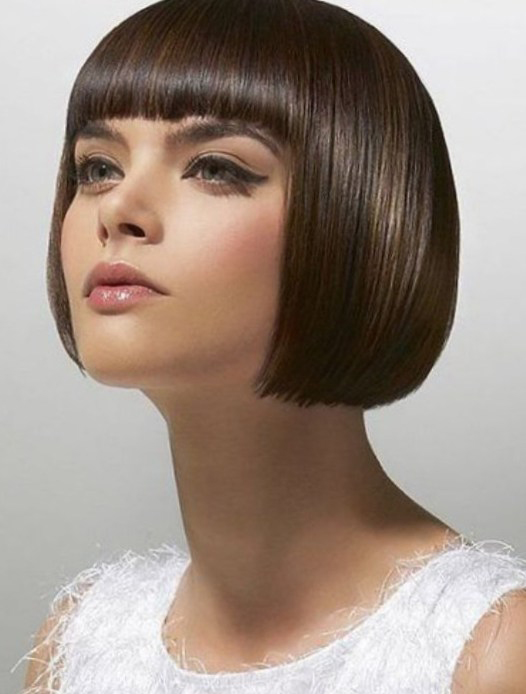 Cleopatra Haircut – Hairstyles for Short Hair with Bangs